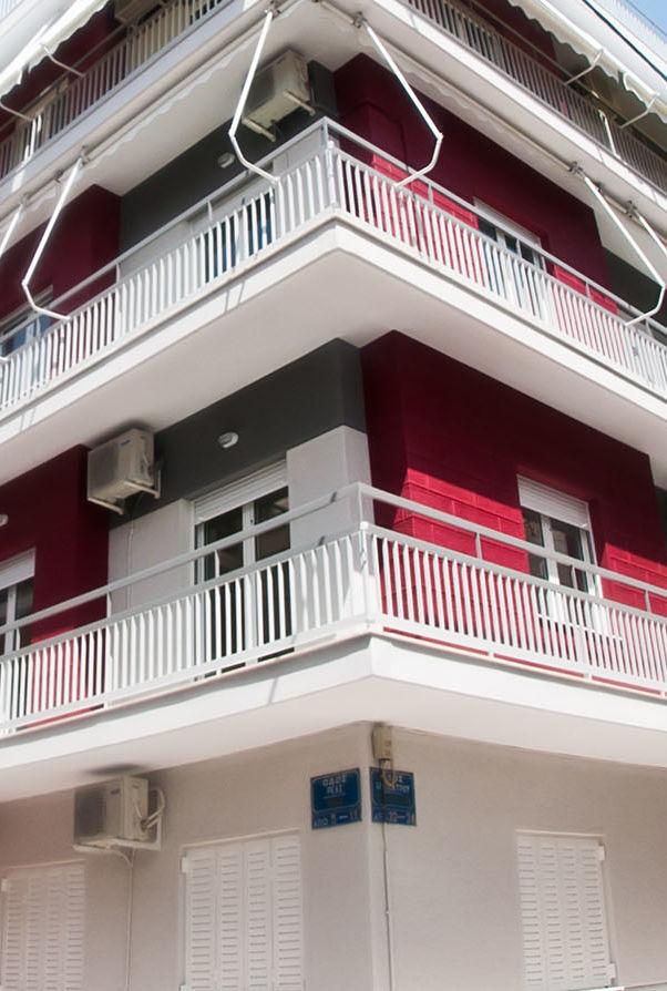 Ανακατασκευή πολυκατοικίας Kάτω Πετράλωνα