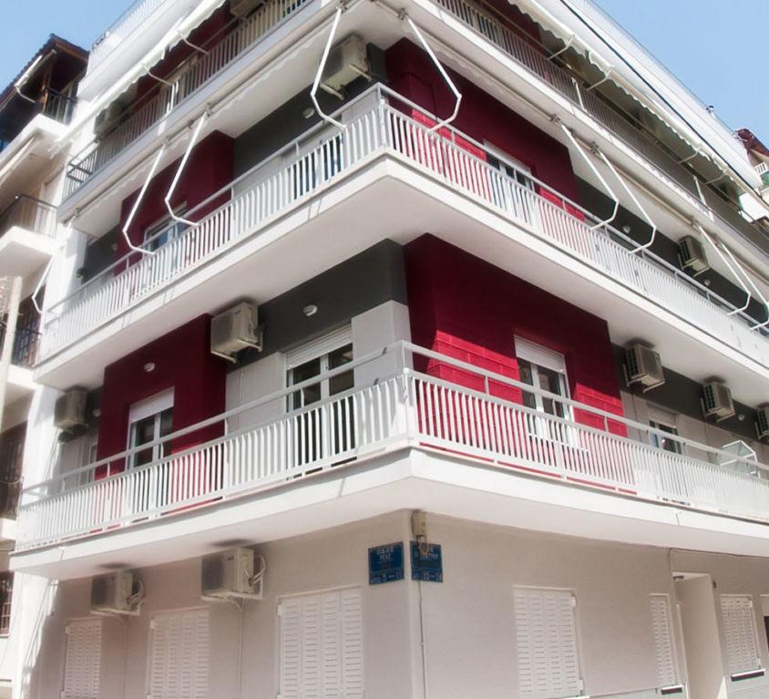 Reconstruction Block of flats in Kato Petralona