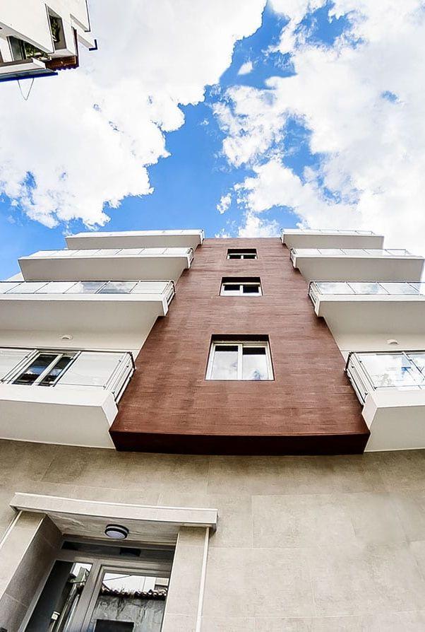 Reconstruction of block of flats in Neos Kosmos Attica
